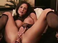 Cougar Kylie Cox Fucks Herself with Dildo