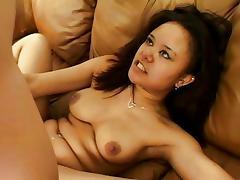 Annie Cruz milks cock