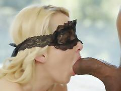 Pretty Aaliyah Love served with a black cock