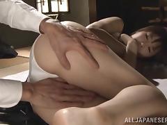 Hardcore Asian sex with lustful cougar Nanako Mori