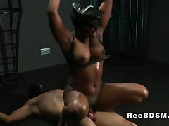 Ebony mistress interracial femdom bdsm ethnic