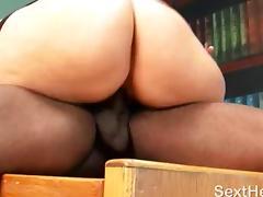 Great Ass Sara Jay Fucking Black Cock