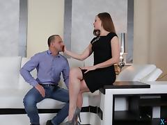 Guy cheats on his wife with his super hot secretary
