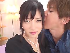Cute JAV girl in a compilation of hardcore and cumshot scenes