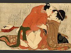 Shunga Art 3 Kitagawa Utamaro