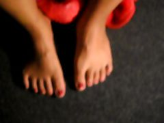 Paimting toes