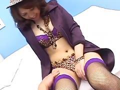 Mina Nakano Uncensored Hardcore Video with Creampie scene