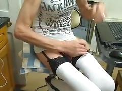 crossdresser with a big cock 9 inches