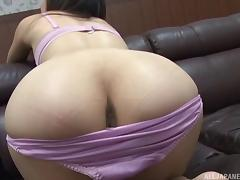 Japanese casting with a skinny girl getting pounded on