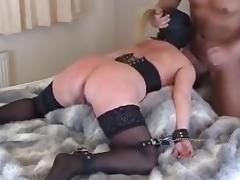 Slave tracy dildoed and fucked