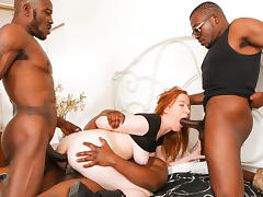 Kierra Wilde & Wesley Pipes & Mark Anthony in Gangland #86, Scene #01