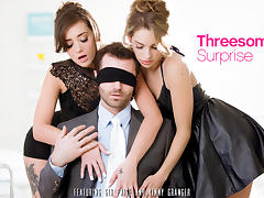 Kimmy Granger & Gia Paige in Threesome Surprise - EroticaX