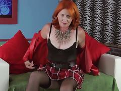 This redhead housewife loves the masturbation more than anything!
