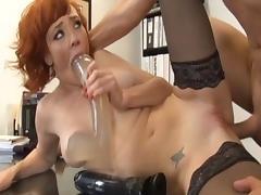 Crazy pornstar Audrey Hollander in fabulous dildos/toys, cumshots porn clip
