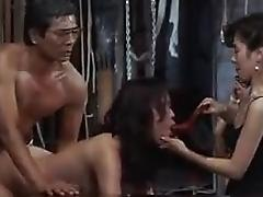 Delightful Asian wife enjoys every deep thrust of cock in h