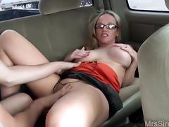 Wife Fucks Stranger in Backseat