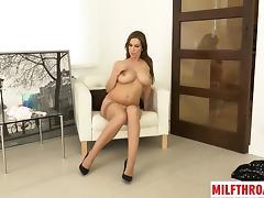 Big tits mom sex with cumshot
