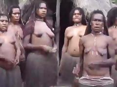 African women topless