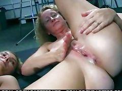 public sex in a bar double vaginal penetratio