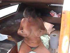 fun on the boat