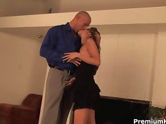 Slutty Kayla gets pounded