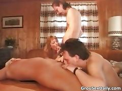After hot party two horny sluts got part2