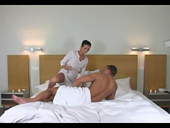 Massage then Hard Fuck