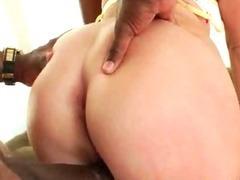 Blonde got her rear end fucked