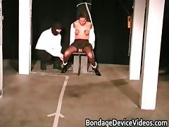 Arms and blowjob Stockaded part4