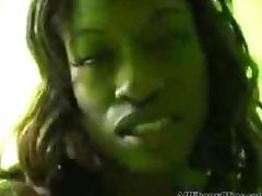 Monique Almost Cries When She Comes black ebony cumshots ebony swallow interracial african ghetto bb