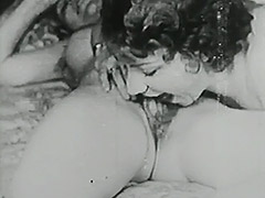 Vintage Toys videos. Buxom vintage gals show her love for big sex objects, pounding their buttholes and pussies