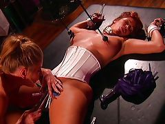 Hot lesbian fetish passion is great