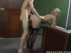 Blonde Convict Alexis Texas Gets Her Big Ass Pounded By An Officer