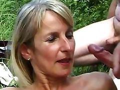 Cumaholic Mature Sucking Cock and Receiving Bukkakes Compilation