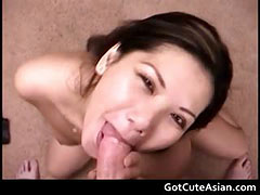Yung the best asian cock sucker ever