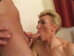 old lady prefer cocks