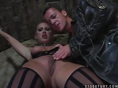 Sexy Mandy Bright gets fucked in the darkest dungeon