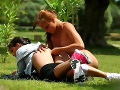 Monica Sweet And Eve Angel Fitness FDP