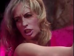 Horny stud shoves cock down Sophie Evans throat