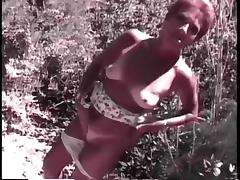 Granny Head #18 Stumbled upon a Redhead Granma Outdoors