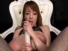 Hitomi Tanaka Oiled Up Scene three