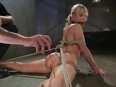 Ashley Fires gets her ass fingered and destroyed with a dildo