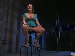 Lorelei Lee is dominating over Claire Dames in the BDSM