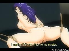 Teen curvy hentai sex slave gets tight cunt fucked hard