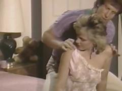 Curly blonde is sucking like an amateur