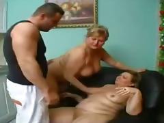 Granny s thake care of a big boy.