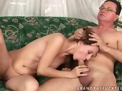Grandpas Fuck miserly shortened Puberty Compilation