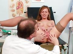 Olga fuck wide will not hear of spectacular doctor