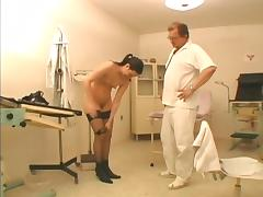 Doctor on duty is taking a thick cock so hard
