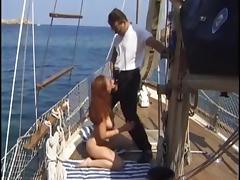 robert ribot and renata wife on boat
